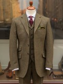 Bladen Green HB Tweed Hacking Jacket