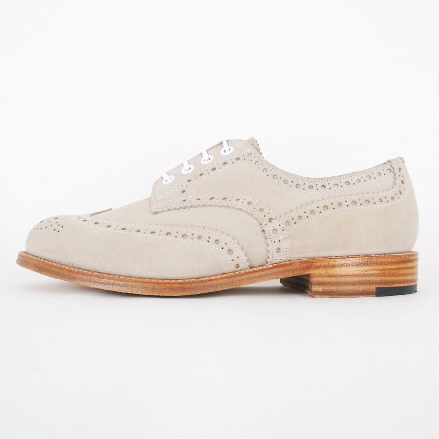 quality design 64e4d 40994 Tricker s for Nitty Gritty brogue buck shoe